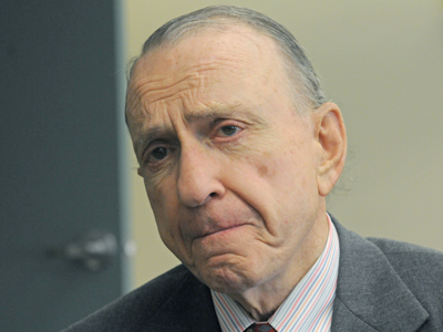 Arlen Specter was Pennsylvania's longest-serving U.S. senator. Specter passed away at 11:39 a.m. Sunday from complications of non-Hodgkins Lymphoma. (April Saul / Staff Photographer)