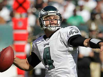 If Donovan McNabb does not return to the Eagles, would Kevin Kolb be the new quarterback? (Yong Kim/Staff Photographer)