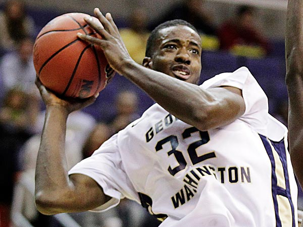 George Washington´s Isaiah Armwood. (Luis M. Alvarez/AP file photo)