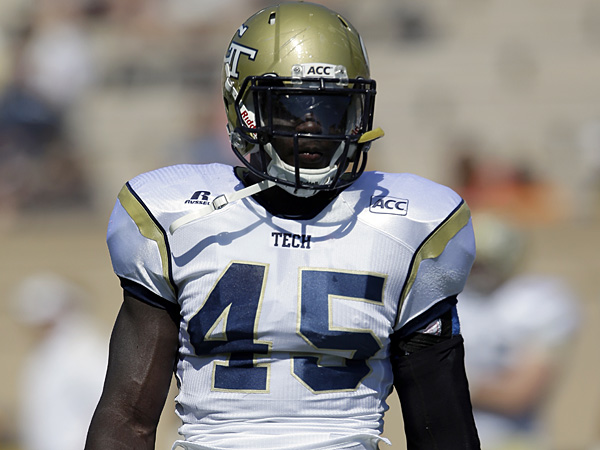 Georgia Tech´s Jeremiah Attaochu. (Gerry Broome/AP)