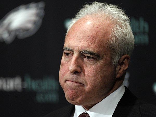 Philadelphia Eagles owner Jeffrey Lurie. (Matt Rourke/AP)