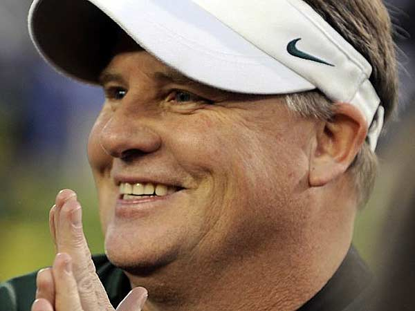 New Eagles head coach Chip Kelly is a native of Manchester, New Hampshire. (Greg Wahl-Stephens/AP file)