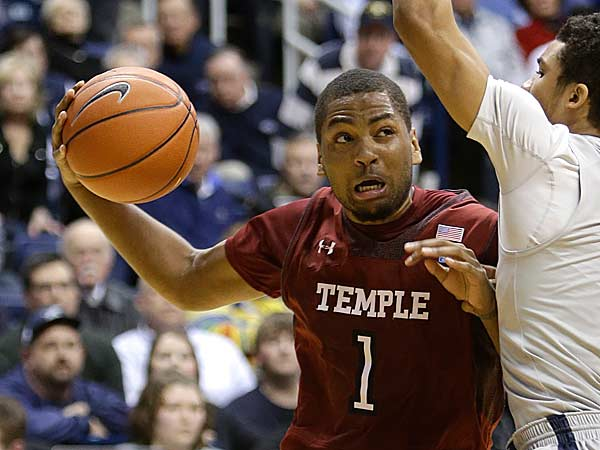 Temple´s Khalif Wyatt scored 18 points during the win over George Washington. (Al Behrman/AP)