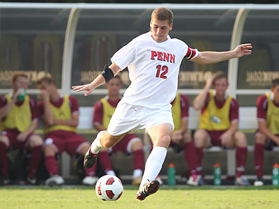 The Union selected Penn´s Thomas Brandt in the first round of the Supplemental Draft. (Photo courtesy of Penn Athletics)