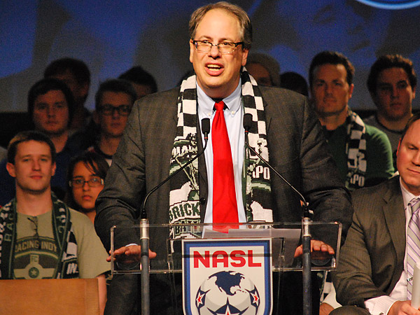Former Chicago Fire and Chicago Red Stars general manager Peter Wilt has helped bring a North American Soccer League team to Indianapolis. (Jonathan Tannenwald/Philly.com)