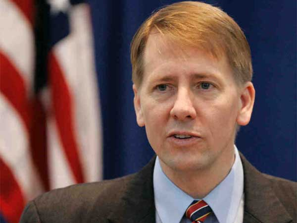 Richard Cordray, the first head of the Consumer Financial Protection bureau. (AP Photo / Kiichiro Sato)