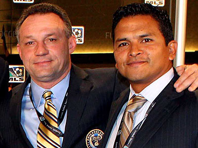Diego Gutierrez had been the Union´s head of scouting and player development since last August. (Photo courtesy Major League Soccer)