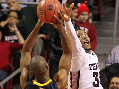 Temple´s Rahlir Hollis-Jefferson scored 19 points in the Owls´ victory over La Salle in January. (Charles Fox/Staff Photographer)
