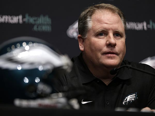 Chip Kelly, introduced as Eagles' new coach, says he is 'all in…