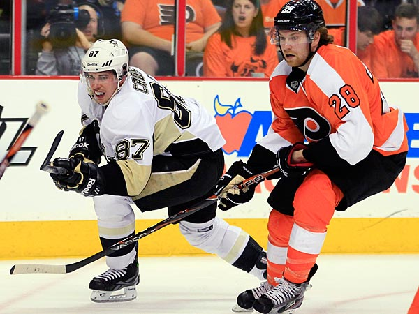 In their last 16 games in the Steel City, the Flyers are 10-0 when they score three or more goals. (Tom Mihalek/AP)