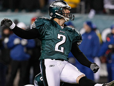 """The Eagles have been so great to me over the 12 years ... I don´t hold anything against them at all,"" David Akers said. (Ron Cortes/Staff file photo)"