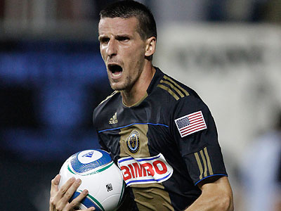 Sebastien Le Toux wil face the Union on Saturday for the first time since being traded to Vancouver. (Michael S. Wirtz/Staff file photo)