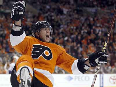 Jakub Voracek could be celebrating a new contract with the Flyers sometime soon. (Yong Kim / Staff Photographer)
