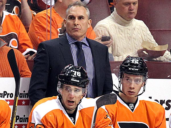 Flyers head coach Craig Berube. (Yong Kim/Staff Photographer)