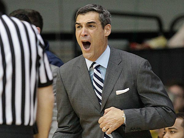 Villanova head coach Jay Wright. (Ron Cortes/Staff Photographer)