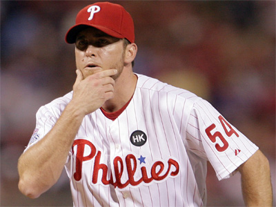 Phillies closer Brad Lidge said his goal remains to be ready for the start of the season. (Yong Kim / Staff Photographer)