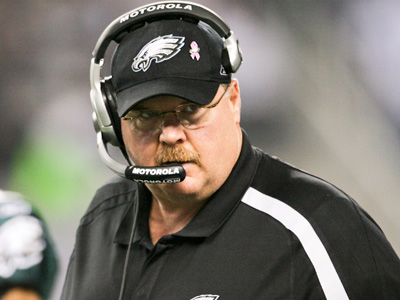 Once the off-season is complete, Andy Reid expects the Eagles to compete for a championship. (Yong Kim / Staff Photographer)