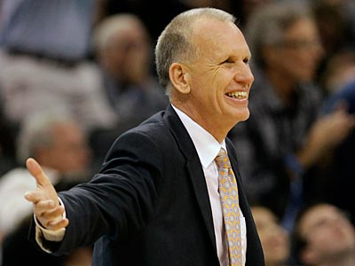 Sixers coach Doug Collins can not communicate with any of his players during the lockout. (John Raoux/AP Photo)