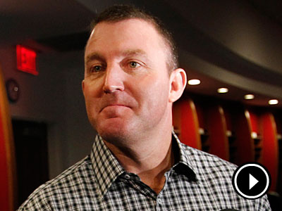 Former Phillie Jim Thome met with members of the media on Friday. (Alejandro A. Alvarez/Staff Photographer)