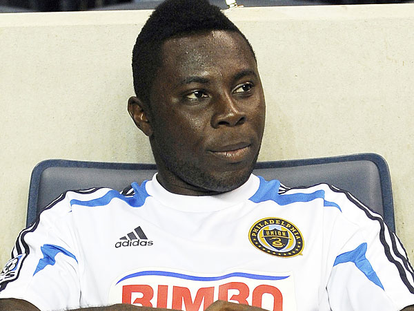 The Union have acknowledged that they are trying to get rid of Freddy Adu. (AP file photo)