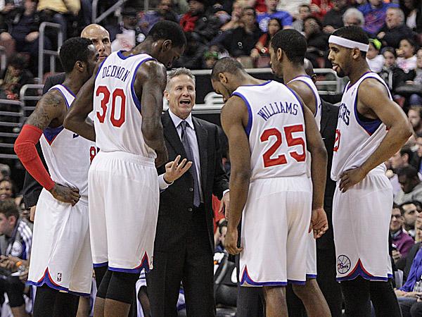 76ers head coach Brett Brown. (Steven M. Falk/Staff Photographer)