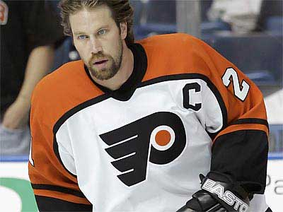 """We'll see how it plays out and then cross that bridge,"" Flyers general manager Paul Holmgren said of the team potentially scouting Peter Forsberg again. (Chris O'Meara/AP file photo)"