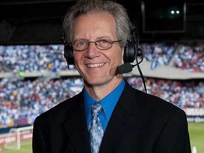 J.P. Dellacamera had worked for ESPN since the 1980s before moving to Fox Soccer Channel. (Photo courtesy the Philadelphia Union)