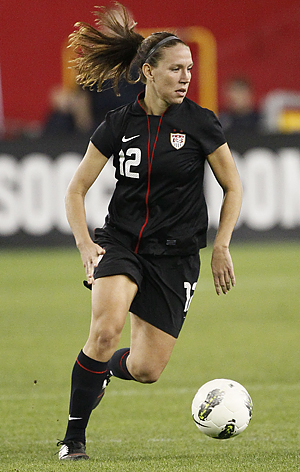 You´ll probably be seeing a lot more of Lauren Cheney in Philadelphia in the coming months. (Rick Scuteri/AP file photo)