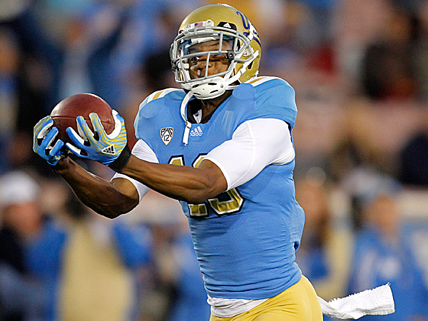 UCLA wide receiver Shaq Evans. (Jae Hong/AP)