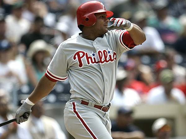 The Phillies have signed outfielder Bobby Abreu to a minor-league deal. (AP file photo)
