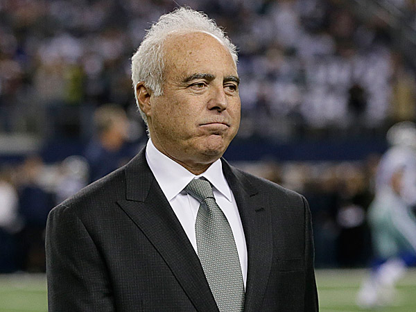 Eagles owner Jeffrey Lurie. (Tony Gutierrez/AP)