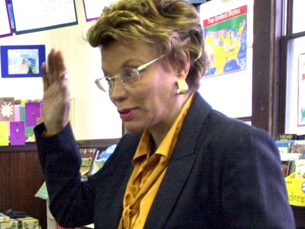 Charter school founder Dorothy June Brown faces more charges. (April Saul / Staff)