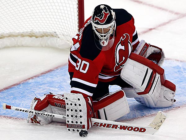 Martin Brodeur´s 120th career regular season shutout Tuesday night was also his 10th against the Flyers. (Julio Cortez/AP)