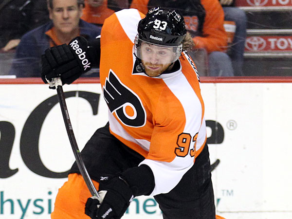 The Flyers´ Jakub Voracek. (Yong Kim/Staff Photographer)