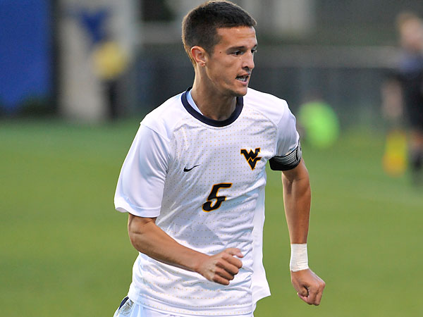 Eric Schoenle. (Photo courtesy of West Virginia University)