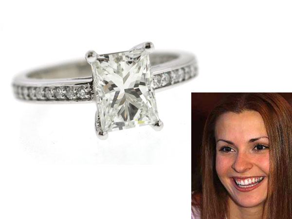 "Former ""Bachelor"" winner Helene Eksterowicz and her 2.01 carat ring designed by Max Weiner Jewelers (805 Sansom Street). (File photo, Max Weiner Jewelers)"