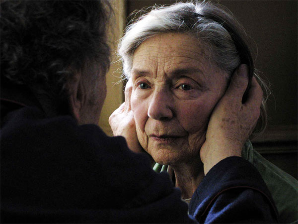 Jean-Louis Trintignant and Emmanuelle Riva play a couple still deeply in love.