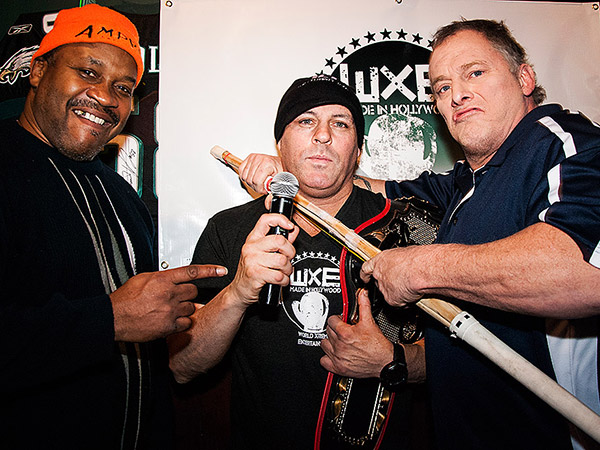 """Terrible"" Tim Witherspoon, Damon Feldman and Jim Fullington, (a.k.a The Sandman)."