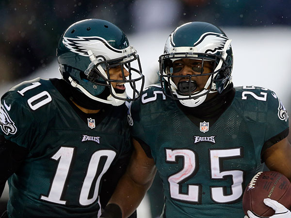 DeSean Jackson Joins LeSean McCoy in Philly for Charity Game
