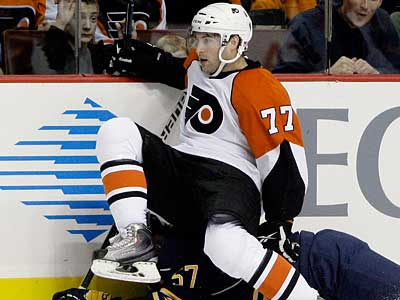 The Flyers could be on the verge of trading Ryan Parent to Nashville. (AP Photo/Matt Slocum)