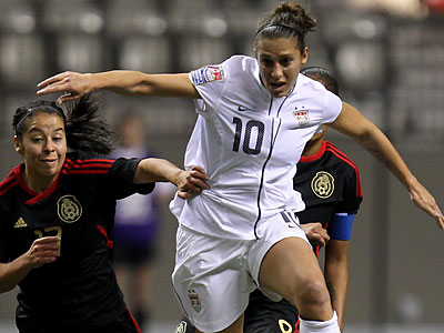 The U.S. team will face France, Colombia and North Korea in the Summer Olympics. (Jonathan Hayward/Canadian Press/AP)