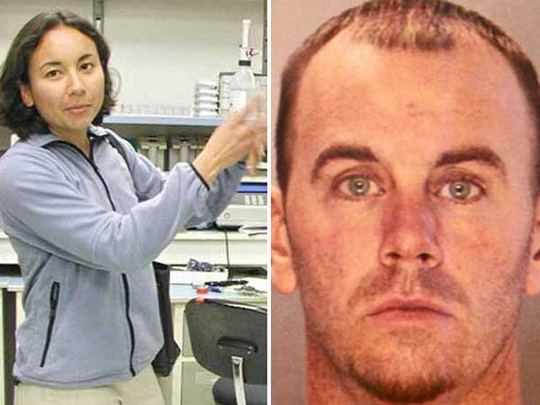 Jason Smith (right), an exterminator from Bucks County, is accused of killing and setting afire Melissa Ketunuti (left), a doctor at the Children´s Hospital of Philadelphia.