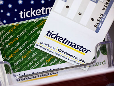 The Department of Justice has imposed major concessions upon Live Nation and Ticketmaster Monday, Jan. 25, 2010, in approving the companies´ merger.(AP Photo/Paul Sakuma, file)