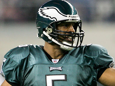"Donovan McNabb ranked 39th out of 60 in a recent analysis measuring ""comeback ability."" (Yong Kim/Staff file photo)"