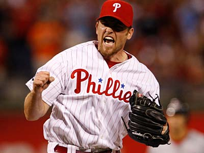 Former Phillies closer Brad Lidge. (Ron Cortes/Staff file photo)