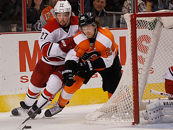 Flyers captain Claude Giroux. (Michael Bryant/Staff Photographer)