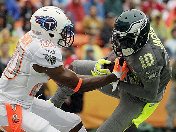 Eagles wide receiver DeSean Jackson. (Eugene Tanner/AP)