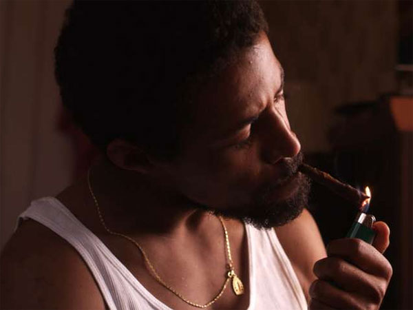 "Amari Cheatom is Lyle in ""Newlyweeds,"" about a stoner couple. The film will be screened Tuesday."