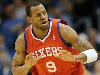 The Sixers and the Warriors are rumored to be negotiating a trade involving Andre Iguodala  (John Raoux/AP file photo)