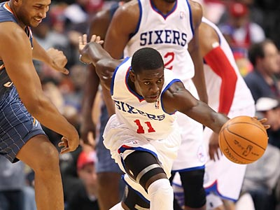 Sixers point guard Jrue Holiday will have his hands full against Derrick Rose. (Steven M. Falk/Staff Photographer)